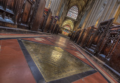 Everything happens for a reason. (Wizard CG) Tags: st mary redcliffe church bristol england uk hdr samsung fisheye lens gothic architecture grade i listed building stained glass anglican parish epl7 ngc world trekker micro four thirds 43 aisle hall mosaic vault ceiling wood room people