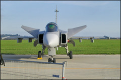 JAS-39C Gripen (Pavel Vanka) Tags: jas39 jas39c gripen saab czechrepublic czech czechairforce czechinternationalairfest jet fighter ciaf lktb brnoturany brno airplane plane aircraft airshow spotting spot spotter