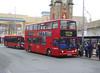 SLN 17863 - LX03NFH - BEXLEYHEATH CLOCK TOWER - THU 12TH APR 2018 (Bexleybus) Tags: stagecoach london tfl route 96 adl dennis alx400 alexander trident bexleyheath shopping centre kent clock tower