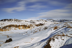 Winter is Ending North of the Wall (wilbias) Tags: snowcapped mountain peak range snow glacier snowy outdoors mountains winter blue sky travel cold iceland southern vic long exposure