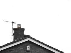 Negative Space Rooftop Cambridge Apr 2018 (symonmreynolds) Tags: negativespace rooftop cambridge april 2018 blackandwhite black white