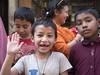 Hi! (Jean Ka) Tags: approved nepal népal kathmandu kathmandou street rue strase enfants children kinder fröhlichkeit happyness gaité sourire smile lächeln
