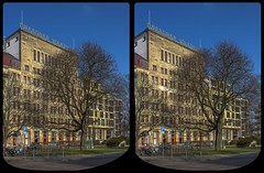 Dresdner Volkshaus 3-D / CrossEye / Stereoscopy / HDRaw (Stereotron) Tags: saxony sachsen dresden elbflorenz mitte dresdnervolkshaus europe germany deutschland streetphotography urban architecture crosseye crossview xview pair freeview sidebyside sbs kreuzblick 3d 3dphoto 3dstereo 3rddimension spatial stereo stereo3d stereophoto stereophotography stereoscopic stereoscopy stereotron threedimensional stereoview stereophotomaker stereophotograph 3dpicture 3dimage hyperstereo canon eos 550d chacha singlelens kitlens 1855mm tonemapping hdr hdri raw quietearth 3dframe fancyframe floatingwindow spatialframe stereowindow window