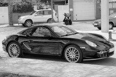 Cayman (Miguel Angel Prieto Ciudad) Tags: porsche cayman supercar sportcar car coche cars auto automobile automotive mirrorless motor sony sonyalpha spain sonyalphadslr sport speed blancoynegro blackandwhite monochrome