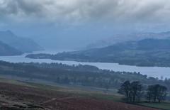 Ullswater Rain (Joe stockdale) Tags: lake district cumbria england uk national park d800 nikon sky overcast rain blue late evening woodland fell placefell heughscar ullswater cumberland askham pooleybridge
