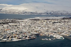 DSC_3240 (stephenholden46) Tags: tromso norway snow winter harbour arcticcircle