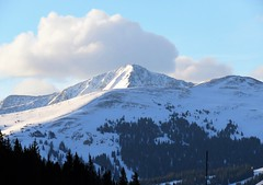 Near Shrine Pass (Patricia Henschen) Tags: shrine pass vail colorado interstate 70 restarea mountain mountains clouds landscape spring sawatch range