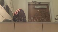 Labrat (NJphotograffer) Tags: graffiti graff pennsylvania pa philly philadelphia bathroom restroom mirror scribe labrat