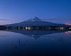 Fuji before Sunrise (Majime-SPN) Tags: sunrise fuji mountfuji nature naturephotography japan japanese nikon d5500 nikond5500 riseandshine reflection