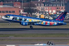 Brussels Airlines / A320 / OO-SND / EBBR 25R (_Wouter Cooremans) Tags: ebbr bru brusselsairport zaventem spotting spotter avgeek aviation airplanespotting brussels airlines a320 oosnd 25r brusselsairlines aerosmurf snsmurfs