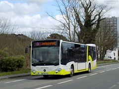 Mercedes Citaro C2 n°351 (ChristopherSNCF56) Tags: bibus bus brest mercedes citaro c2 351 transport urbains keolis