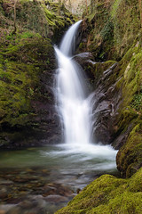 Favourite Falls (Howie Mudge LRPS BPE1*) Tags: landscape nature ngc nationalgeographic water cascade waterfall flow river moss woods woodland forest outside outdoors greatoutdoors longexposure wet gwynedd wales cymru uk sony sonya7ii sonyalphagang sigmamc11adapter canon canon1740mmf4l polarizer