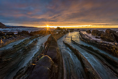 Barrika Gold (dwfphoto) Tags: barrika biscay basqueregion basque spain espana seascape