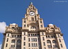 Royal Liver Building (FujiRob) Tags: royalliverbuilding liverbirds liverpool uk fujifilmx10 bluesky 3graces