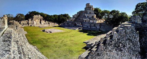 Edzná Maya archaeological site, Campeche