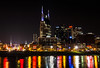 Downtown Nashville (lightonthewater) Tags: nashvilletn citylights city downtown buildings tennessee river lightonthewater reflection