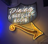 Dining (skipmoore) Tags: museumofneonart mona glendale diningbanquetroom arrow neon sign patina