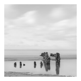 Groynes by low tide #2