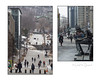 Ville estudiantine 0931_34 (60regards) Tags: diptyque ville étudiant université personne