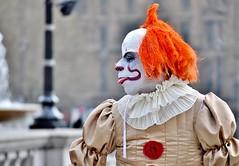 Playing The Fool (jaykay72.) Tags: london uk street candid streetphotography trafalgarsquare stphotographia