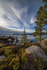 Shoreline Tahoe (Middle aged Nikonite) Tags: lake tahoe clouds trees rocks vista outdoor landscape water california nikon d750 nature shore irix 11mm