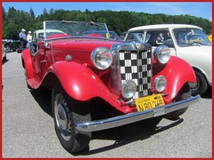 MG TD Midget, 1950 (v8dub) Tags: mg td midget schweiz suisse switzerland bleienbach british roadster pkw voiture car wagen worldcars auto automobile automotive old oldtimer oldcar klassik classic collector