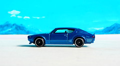 Hot Wheels Then And Now Nissan Skyline 2000 GT-R 2017 : Bonneville Salt Flats - 9 Of 14 (Kelvin64) Tags: hot wheels then and now nissan skyline 2000 gtr 2017 bonneville salt flats