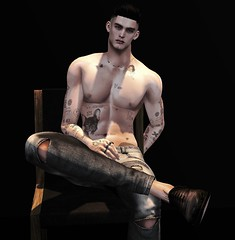 Call out my name (MATTY // *OMG*) Tags: sl secondlife mens men male photo photography edit blogger shadows