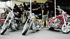 Vendors & The River Run (Shot by Newman) Tags: laughlinnv riverrun bikeweek shotbynewman fuji400 people showcase bikes bikers southwestus 35mm daylight fujifilm 35mmminolta