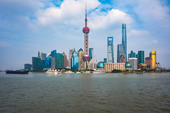 Shanghai city skyline, Panoramic view of shanghai skyline and huangpu river, Shanghai China (Patrick Foto ;)) Tags: abstract aerial architecture asia background blue building business center china chinese city cityscape construction corporate day destination downtown dusk famous finance financial holiday huangpu journey landmark marine megalopolis metropolis metropolitan modern office oriental panoramic pearl pudong river scene shanghai ship sky skyline skyscraper tourism tower travel urban view water waterfront shanghaishi cn