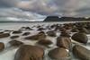 'Stone-Washed' - Lofoten Islands (Kristofer Williams) Tags: uttakleiv lofoten norway rocks water sea seascape landscape mountain mountains longexposure cloud