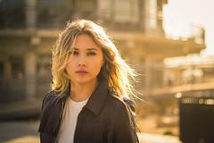 This Heart's On Fire (Kristen Palatella) Tags: girl model woman pretty beauty beautiful glow sunlight sun sunshine nj asburypark beach blonde yellow