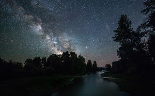The Shields River Under the Stars