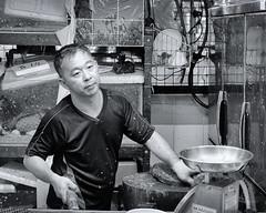 Wet Market B&W #3 (Ch0jiN) Tags: singapore markets fish seafood asia travel fuji xe2
