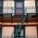 San Francisco - Grant Street Balcony