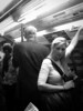 Passenger (Terry Moran aka Tezzer57) Tags: london londonunderground girl travel passenger blackwhite uk urban