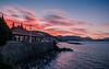 Recibimiento (matiasrquiroga) Tags: bariloche viaje argentina patagonia sunset atardecer lake water reflection hdr trip travel southamerica sudamerica latinoamerica
