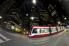 When the Stars Come Out At Night (cjb_photography) Tags: 416 4438 architecture canada landscape longexposure night nightphotography ontario photographer photography streetphotography streetcar the6ix toronto torontotransitcommission transit ttc