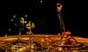 Chaos 1 (Robert Benatzky Picture) Tags: drops colorful robertbenatzkypicture tropfen tropfenfotografie highspeed abstrakt abstract beautiful water lights lichter lightreflection lichtreflektionen