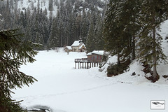 Lago di Braies (Pragser Wildsee) (ugoehler) Tags: winter altoadige anterselva dreizinnen gebirge misurina mountains oberrasen prags pragserwildsee schnee seelake snow trentino italy