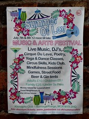 The Summer Of Lev (stillunusual) Tags: manchester mcr city england uk levenshulme leve m19 summeroflev festival poster 2018