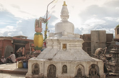 Stupa - Swayambhunath Temple (cattan2011) Tags: temple ruins traveltuesday travelphotography travelbloggers travel buddhism culture religion landscapephotography landscape 尼泊尔 stupa swayambhunathtemple kathmandu nepal