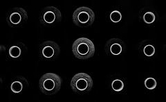 Week 12 | Rule of Odds (Steph*Powell) Tags: bobbin thread monochrome blackandwhite contrast circle nikond5100 35mm