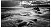 Dunbeath Beach (B&W) (Gordon Mackie) Tags: dunbeath beach nd1000 bw surf longexposure caithness nc500 northcoast500