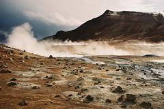 Iceland Adventures ! (Hëllø i'm Wild) Tags: analog film 35mm canonae1 iceland icelandadventures travel hike outdoor nature adventures fujisuperia400iso hverir