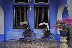 Georgetown - Cheong Fatt Tze Mansion 3 - Explore (luco*) Tags: malaisie malaysia penang georgetown blue mansion maison bleue cheong fatt tze explore explored