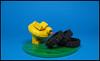 OH WOW!!! Mega Donuts : D (Karf Oohlu) Tags: lego moc vignette duck fatduck tyre tire donut greedy stupid