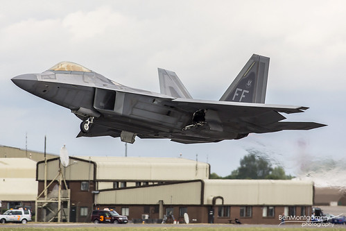 Lockheed Martin F-22A Raptor 09-4180 - United States Air Force - RIAT 2017