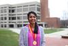 Bhaheetharan, Jeyanthi (dueMedia) Tags: william plater medallion headshots library fountain student award