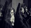 Guapas!! (ariasa12) Tags: semanasanta mantilla peineta